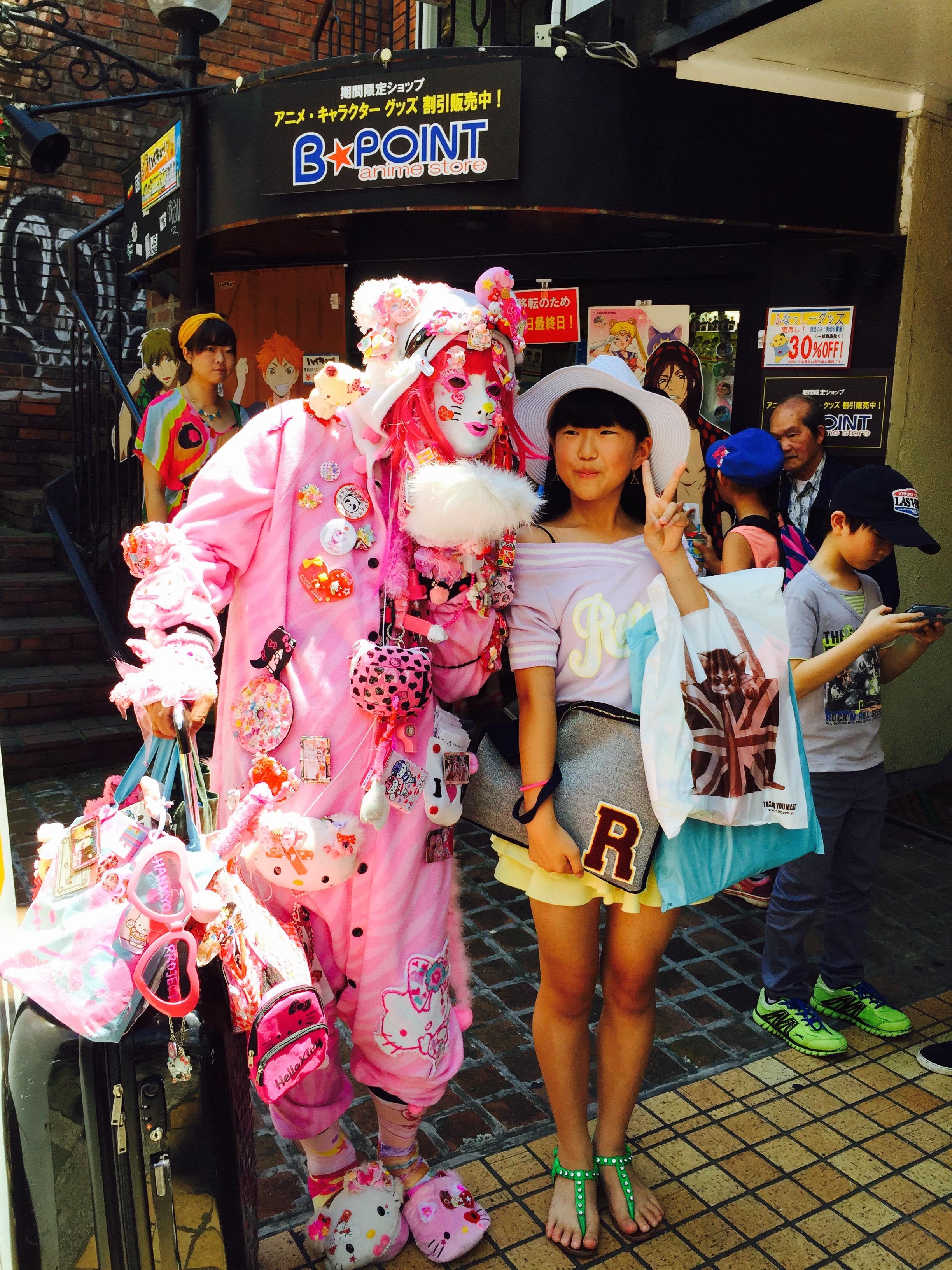 DIGGING POP CULTURE IN HARAJUKU, TOKYO
