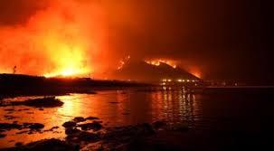 burning to the coasr