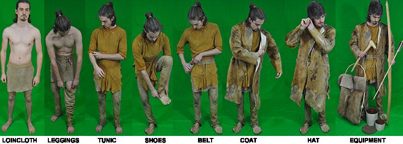 Otzi style clothes1